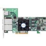 ARECA 6.0Gb/s SAS RAIDカード Dual Core 800MHz PCIe X8、512MB SFF-8088x2 LP ARC-1882X