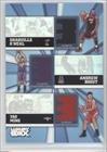 Shaquille-O'Neal-Yao-Ming-Andrew-Bogut-88-250-Milwaukee-Bucks-Houston-Rockets-Miami-Heat-Basketball-Card-2005-06-Topps-Luxury-Box-Trinity-Relics-TR-OBM