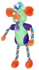 Vo-Toys Double Partners Baseline Mouse Dog Toy