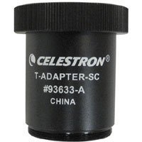 Celestron 93633-A T-Adapter for C5, C8, C9-1/4, C11, C14 Celestron Telescopes