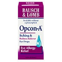 Bausch & Lomb Opcon A Itching & Redness, Allergy Relief Eye Drops - 0.5 Fl Oz (15 Ml)
