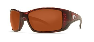 Costa Del Mar Blackfin BL 10 OCGLP Tortoise Frame Copper Glass - W580 Designer Unisex Sunglasses
