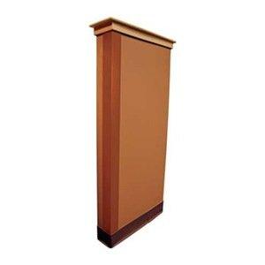 Corner Guard, Bronze, 1X48In, Adhesive front-1041120