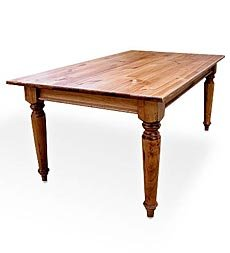 7' Plank Top Farmhouse Table