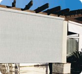 "Coolaroo Exterior Sun Shades 46""x46"", Porch Shades by Coolaroo"