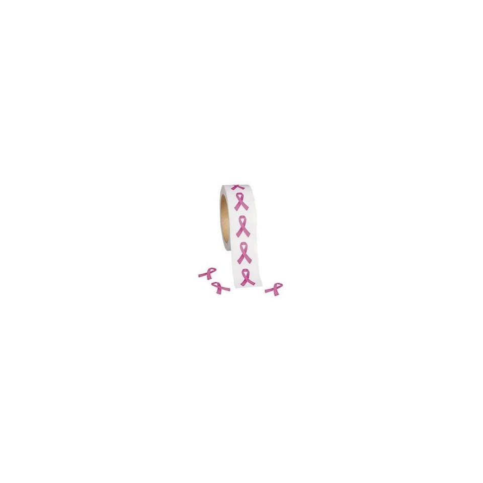 first rate aec9b e64c1 500 PINK RIBBON Stickers BREAST CANCER AWARENESS Great for Invitations  Badges Thank you Cards