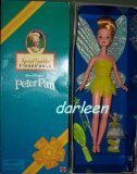 Avon Exclusive Peter Pan's TINKERBELL DOLL by Mattel 1998 (Peter Pan Barbie compare prices)
