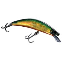 Daiwa  Dr. Minnow Lures Size/Color: 9; Ghost Olive (DM9F01)
