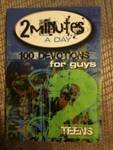 2 Minutes a Day: 100 Devotions for Guys, FCP