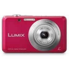 Panasonic Lumix DMC-FH4 14 MP Digital Camera Pink