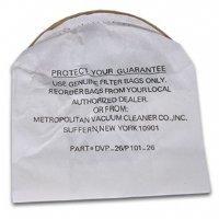 Metro Vacuum DVP26RP Disposable Bags, 5-Pack