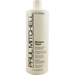 PAUL MITCHELL SHAMPOO THREE REMOVES CHLORINE AND IMPURITIES 33.8 OZ UNISEX by Paul Mitchell