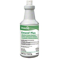 Diversey 4496138 Emerel Cream Cleaners Pro Strength Rich Cream Bathroom Cleaner