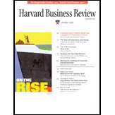 Harvard Business Review, October 2006 | [Harvard Business Review, Paul Hemp, Clay Christensen, Gary Pisano, James Marsh, Theodore Levitt]