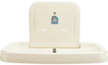 Wall Mounted Koala Baby Changing Station front-13226