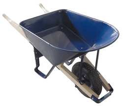 Westward 10G168 Wheelbarrow, Steel Tray Gauge 16