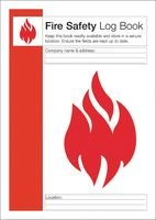 FIRE SAFETY LOG BOOK, A4 BPSCA Q4127 - HE33546 Di Best Price Square