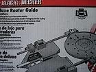 Black & Decker Deluxe Router Guide #76-234