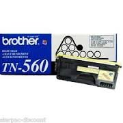 Original Brother TN-560 (TN560) 6500 Yield Black Toner Cartridge - Retail (Brother 6500 compare prices)