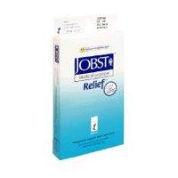 Jobst Relief Knee High 20-30mmHg Open Toe, S, Beige