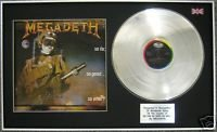 Megadeth LP CD & Platinum-Cover, So Far So Good