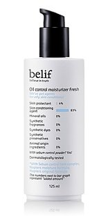 Korean Cosmetics, Lg Household & Health Care_ Belif, Oil Control Moisturizer Fresh 125Ml (For Oily Skin Types)[001Kr]