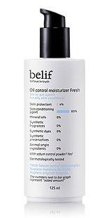 Korean Cosmetics, Lg Household & Health Care_ Belif, Oil Control Moisturizer Fresh 125Ml (For Oily Skin Types)[001Kr]