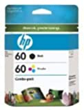 HP 60 Black / Color Original Ink Cartridge Combo Pack