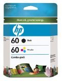 HP 60 Black Color Original Ink Cartridge Combo Pack