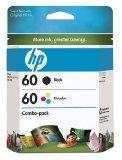 Hp 60 Black / Color Original Ink Cartridge Combo Pack