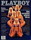 Playboy Magazine: January 1992 -- Swedish Bikini Team
