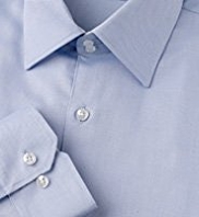 2in Longer Autograph Pure Cotton Textured Shirt