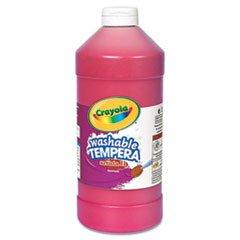 Crayola. 543132038 Artista II Waschbar Tempera Farbe, Rot, 32 Unzen