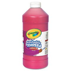 * Artista II Washable Tempera Paint, Red, 32 oz