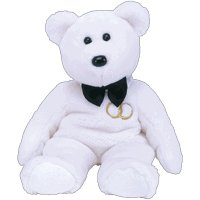 Ty Beanie Buddies - Mr. the Groom Bear