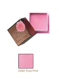 lunasol ルナソル グロウイング パウダー チークス #EX02 Pure Pink 6g