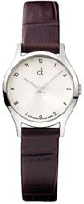 Calvin Klein Ladies Watch Classic Leather K2623126
