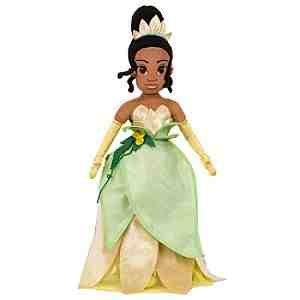 The Princess and the Frog Princess Tiana Plush soft Doll -- 21''