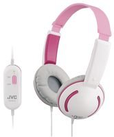 Impressive-Power JVC - HA-KD10P - HEADPHONES, KIDS TINY PINK, JVC - Pack of 1- Min 3yr Cleva® Warranty