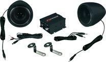 Motorrad Roller Musikanlage System Bke Soundsystem Renegade RXA100B Black Finish von Renegade auf Reifen Onlineshop
