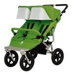 Easywalker Duo Plus – Silla de paseo doble, color verde