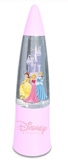 Mini Disney Princess Glitter Lamp