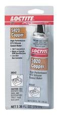 Loctite 5920 High Performance RTV Silicone Gasket Maker Flange Sealant, 70 mL Tube, Copper loctite 11