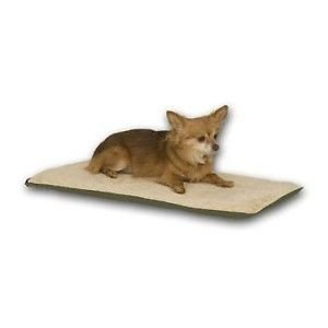 K&H Thermo Indoor Heated Pet Mat Dog Cat Bed 14X28 Mocha Kh4081 For Your Dog And Cat Fast Shipping