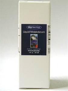 Allergy Research Group Molybdenum, Liquid - 1 Oz, Fluid [Kitchen]