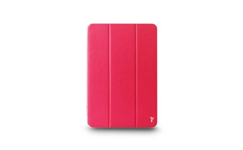 The Joy Factory SmartSuit - Ultra Slim Snap On Stand/Case with Wake/Sleep Cover for iPad Mini 3, iPad Mini 2 & iPad Mini (Fushia Pink), CSE117 (Joy Factory Smartsuit Mini compare prices)