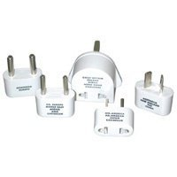 Travel Smart by Conair M-500E Polarized Adapter Plug Set