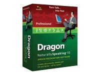 Dragon NaturallySpeaking 10 Professional (French) (vf - French software)