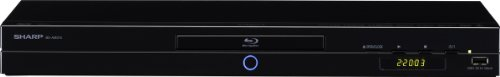 Sharp BDAMS10S 3D Blu-ray Player (HDMI, DivX-HD, USB 2.0) schwarz (Blu Ray 3d Sharp compare prices)