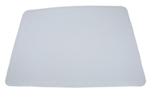 Southern Champion Tray 1153 Bright Corrugated Single Wall Cake Pad, Half Sheet, 19″ Length x 14″ Width, Greaseproof, White (Case of 50)